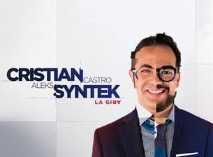 Cristian CastroBoletos