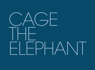 Cage The Elephant Boletos