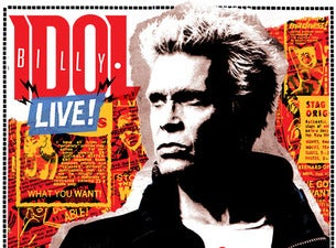 Billy Idol Boletos