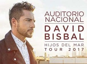 Anuncio David Bisbal en el Auditorio Nacional de México 2017 Boletos