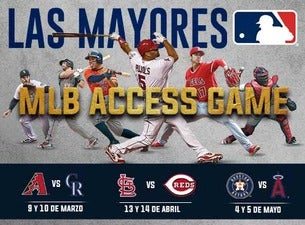 MLB Monterrey Series Boletos