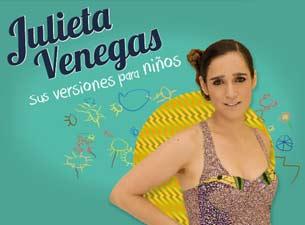 Julieta VenegasBoletos