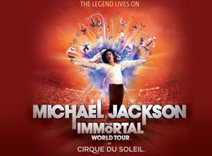 Michael Jackson The Immortal World Tour by Cirque du Soleil Boletos
