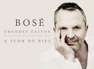 Miguel BoséBoletos