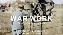 Michael Nyman Band presenta War Work: 8 songs with film