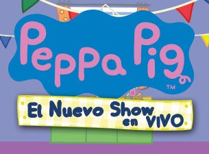 Peppa Pig el show en vivo Boletos
