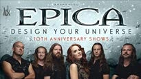 More Info AboutEpica, Design your Universe 10 TH Aniversary Shows