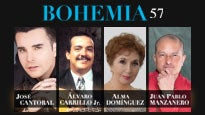 More Info AboutBohemia 57: J Cantoral, A Carrillo Jr, A Domínguez y JP Manzanero