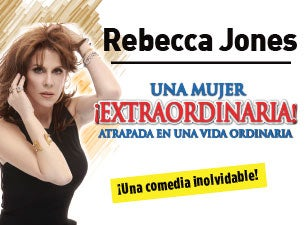 Rebecca Jones Una Mujer Extraordianaria Boletos