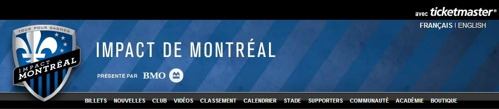 Montreal Impact French Tickets
