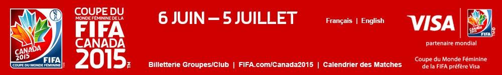 Coupe du monde f minine de la fifa canada 2015 billets - Coupe du monde de handball 2015 calendrier ...