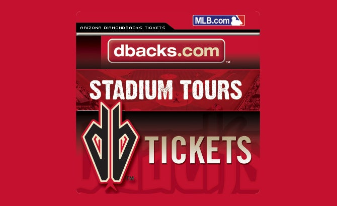Chase Field Stadium Tours Seating Chart
