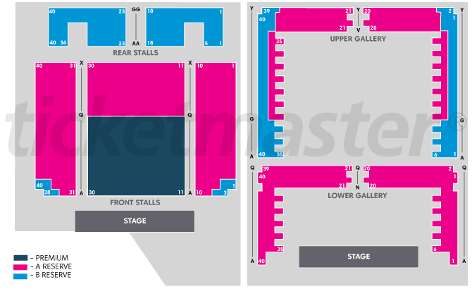 Perth Concert Hall Perth Tickets Schedule Seating Chart
