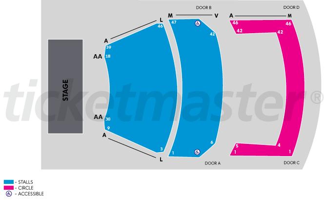"""Kids for Kids """"Kiwi As"""", seat map"""