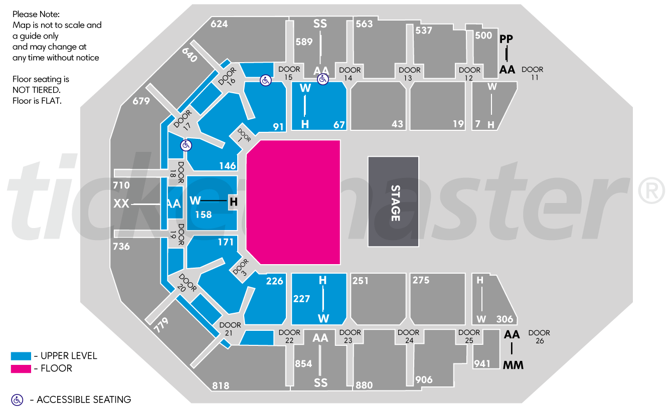 Spark Arena - Auckland   Tickets, Schedule, Seating Chart