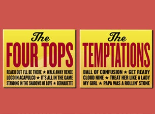 Four Tops and Temptations