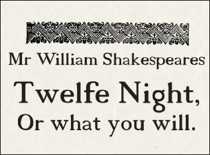 Twelfth Night at Alley Theatre-Hubbard Stage