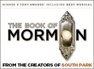 The Book of Mormon (London) Event Title Pic