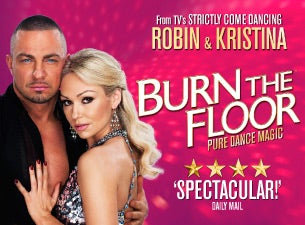Burn the Floor tickets (Copyright © Ticketmaster)