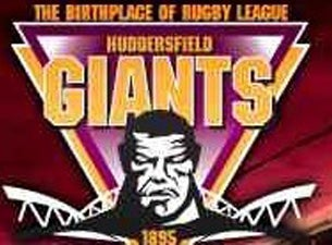 Huddersfield Giants v Wigan Warriors Event Title Pic