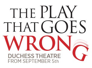 The Play That Goes Wrong Event Title Pic