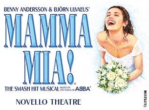 Mamma Mia! tickets (Copyright © Ticketmaster)