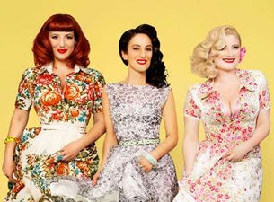 The Puppini Sisters tickets (Copyright © Ticketmaster)