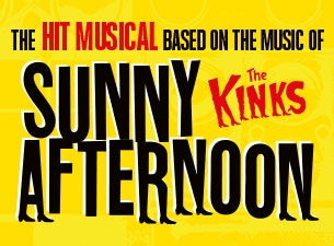 Sunny Afternoon tickets (Copyright © Ticketmaster)