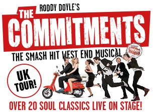 The Commitments (Touring) tickets (Copyright © Ticketmaster)