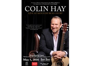 Colin Hay of Men At Work