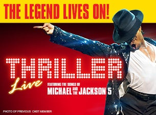 Thriller Live - In Concert Event Title Pic