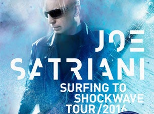Joe Satriani tickets (Copyright © Ticketmaster)
