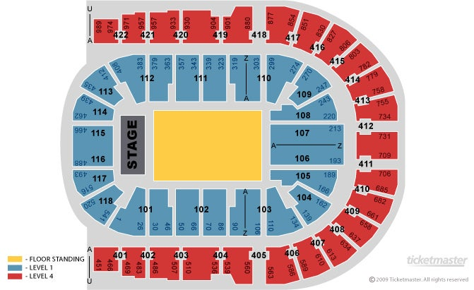 Ozzy Osbourne - Vip Packages Seating Plan at The O2 Arena