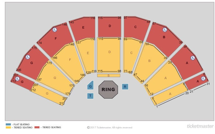 Bellator Mma - Official Platinum Tickets Seating Plan at 3Arena