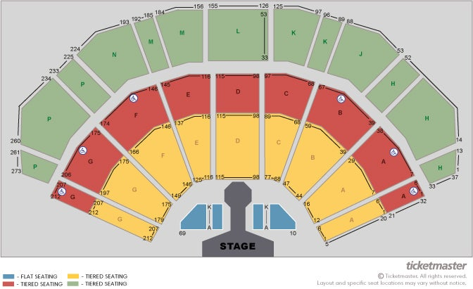 Hugh Jackman: The Man. The Music. The Show - VIP Packages Seating Plan at 3Arena
