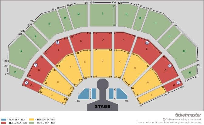 Hugh Jackman: the Man. the Music. the Show Seating Plan at 3Arena