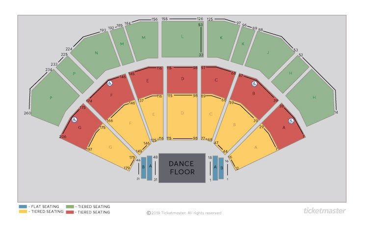 Strictly Come Dancing - the Live Tour Seating Plan at 3Arena