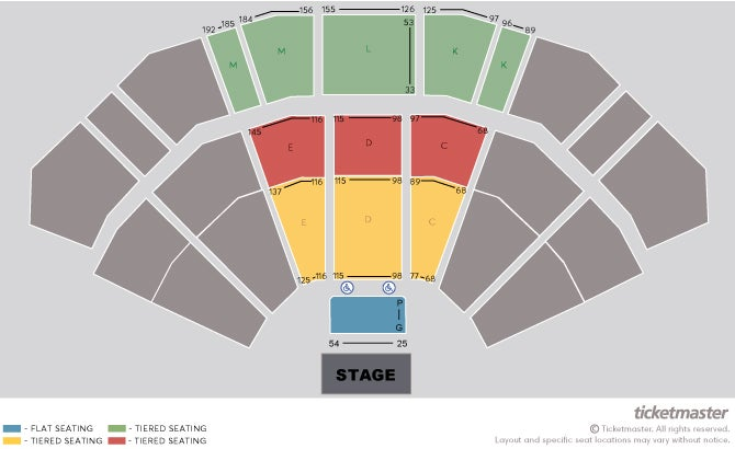 PAW Patrol Live!: Race to the Rescue Seating Plan at 3Arena